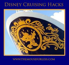 Disney Cruising Hacks - Tips to for the best Disney Cruise Line vacation #DCL Disney Fantasy Cruise, Disney Dream Cruise, Disney Cruise Tips, Disney 2017, Cruise Vacation, Disney Fun, Disney Vacations, Disney Ideas, Vacation Planner