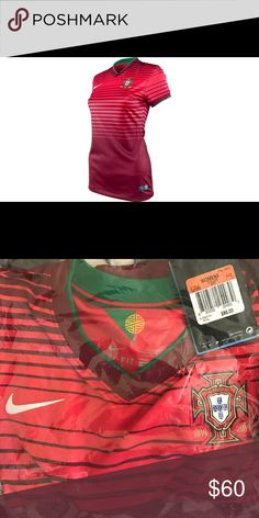 Women's Portugal soccer jersey 100 years of Portugal soccer centennial  edition jersey. 1914-2014