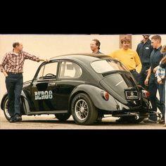 Gene Berg's 67 Bug sedan!