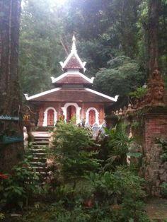 Temple in Chiang mai Thailand