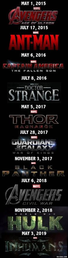 Phase 3: The Future of Marvel Comic Movies in One Poster?