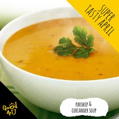 Irish Family-owned health food company specialising in Natural Functional Foods that deliver on our brand promise to be honest & healthy, functional & tasty. Coriander Soup, Tasty, Healthy, Ethnic Recipes, Food, Meals, Health, Yemek, Eten