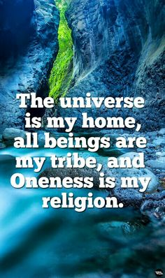 The most important lesson... oneness of all things. #spiritual