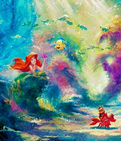 When i was a little girl, i wanted to BE The Little Mermaid, much to my dismay when i found out mermaids weren't real.... well lets just say i was absoloutely devistated.