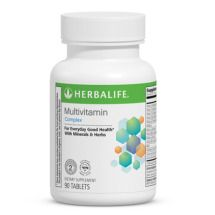 Daily multi-vitamin tablet with more than 20 essential nutrients and antioxidants, including folic acid, calcium and iron.