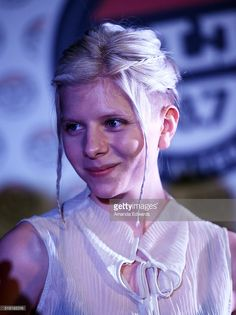 Singer/songwriter Aurora performs a private concert at The WaterMarke Tower on April 4, 2016 in Los Angeles, California.