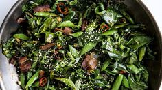 How to Cook Stir-Fried Greens (Plus Bacon!) Without a Recipe | Bon Appetit