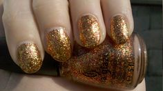 """Electrify (District 5 - Power) nail polish from the Hunger Games Collection by China Glaze, """"Capital Colours""""."""