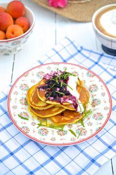 Snídaňové lívance | Painless pancakes Pancakes, Dishes, Breakfast, Ethnic Recipes, Morning Coffee, Tablewares, Pancake, Dish, Signs