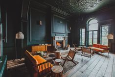 Hire a meeting room in Hertfordshire. Hang out in the co-working space. Georgian Mansion, Georgian Townhouse, Gun Rooms, Country Hotel, Country Estate, Old Mansions, Private Dining Room, Room Screen, Wood Fired Pizza