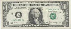1 Dollar 1969B (Washington)