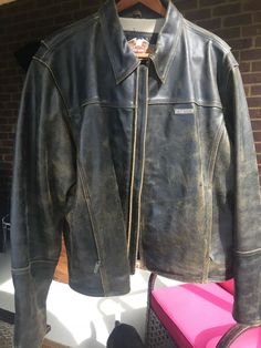 18118fe7c2d Harley Davidson Men's 2XL Distressed Leather Jacket #fashion #clothing  #shoes #accessories #