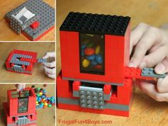 Lego candy dispenser diy crafts craft ideas diy crafts do it yourself diy projects crafty kids crafts lego do it yourself crafts kid craft ideas