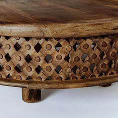 Wicker Coffee Table, Unique Coffee Table, Coffee Table Design, Modern Coffee Tables, Rustic Apartment, Metal Furniture, Living Room Designs, West Elm, Carving