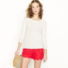 loveee these shorts! not released yet j.crew spring '12