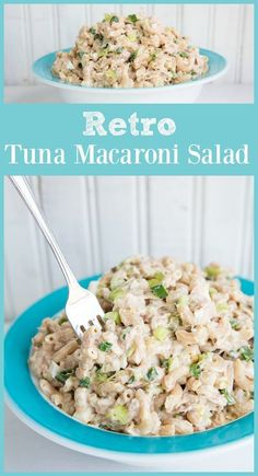 This is such a great summer side dish. Retro Tuna Macaroni Salad - The Kitchen Magpie What Is Healthy Food, Healthy Food Habits, Healthy Food Choices, Good Healthy Recipes, Healthy Foods To Eat, Healthy Eating, Healthy Mummy, Healthy Meats, Healthy Soup