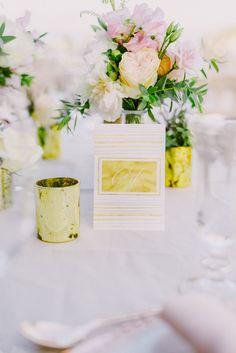Table names | Wedding stationary | Blush and gold wedding theme | Lebanese Wedding Athenian Riviera | Elegant Wedding | Luxury Weddings | Greek Island Weddings | Destination Wedding