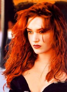 Kate Winslet with gorgeous Rose-red hair