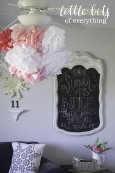 Sugar and Spice sign for a baby shower - so sweet!