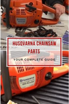 One critical factor when owning a husqvarna chainsaw is maintenance.Learn about the most important husqvarna chainsaw parts and accessories! Chainsaw Repair, Chainsaw Mill, Chainsaw Parts, Chainsaw Sharpening Tools, Chainsaw Sharpener, Chainsaw Accessories, Lumberjack Tools, Lawn Mower Repair, Diy Projects Plans