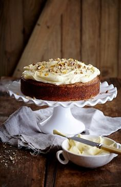 NOMU is an original South African food and lifestyle concept by Tracy Foulkes. Cake With Cream Cheese, Cream Cheese Frosting, Carrot Cake Ingredients, Soda Cake, Cake Flour, Cake Tins, Cupcake Cakes, Cupcakes, Vanilla Cake