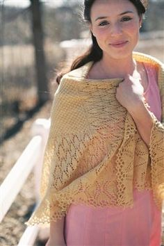 Anne Elliot's Fichu, Jane Austen Knits, Summer 2012