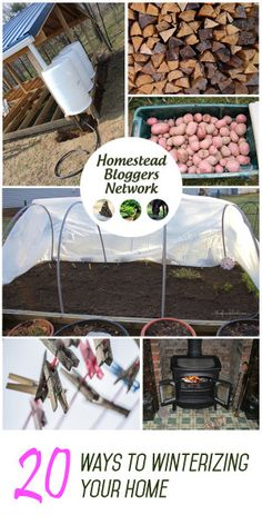 Is your homestead ready for the cold winter weather? Have you stored enough food? How about your livestock? Here are 20 tips on how to winterize your homestead.