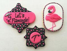 Let's Flamingle! cookies | by sarah godlove
