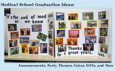 Medical School Graduation Ideas: Announcements, Party Themes, Cakes, Gifts, and More