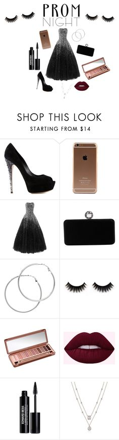 """Prom night"" by skataewwvas on Polyvore featuring Casadei, Swarovski, Melissa Odabash, Urban Decay and Edward Bess"