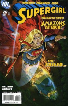 Amazon.combat! Themiscyra declares war on Man's World and not even Supergirl can protect the big man from 300 (at least) warrior women!