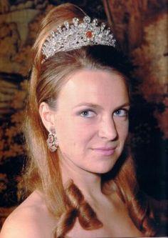 La princesa Irene de Borbón-Parma.