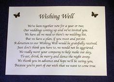 sample wedding invitation monetary request - Google Search