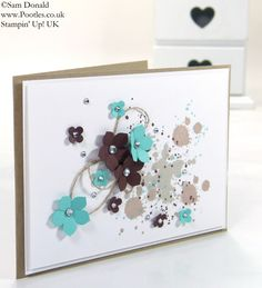 Petite Gorgeous Grunge Petals! | Stampin' Up! UK Demonstrator Pootles - SHOP ONLINE 24/7