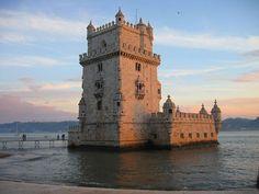 A Torre de Belém é um dos monumentos mais visitados de #Lisboa (Foto: Daniel Feliciano/Creative Commons)