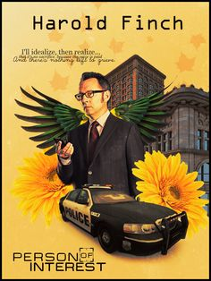 HAROLD FINCH BY MICHAEL EMERSON ACTOR PERSON OF INTEREST