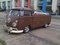 VW Camper-Pickup by little-rock-gallery, via Flickr
