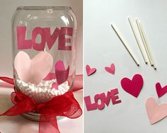 20 Homemade Valentine Gifts For Under $1 - PLAYTIVITIES Valentine Gifts For Kids, Valentine Activities, Homemade Valentines, Fun Crafts For Kids, Craft Activities For Kids, Valentine Day Crafts, Diy Valentine's Day Decorations, Valentines Day Decorations, Gifted Kids