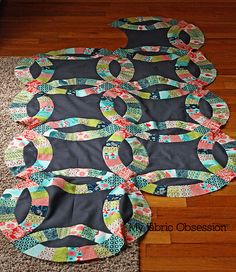 another wedding ring quilt