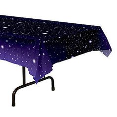 These would make perfect table covers for the new Starry Eyed MOPS theme: Starry Night Table Cover measuring 54 inches wide x 108 inches long. Star Theme Party, Party Themes, Party Ideas, Art Party, Theme Galaxy, Space Baby Shower, Galaxy Wedding, Starry Night Wedding, Space Theme