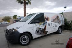 We recently finished this van wrap for @BaskeCalifornia, a husband and wife team who make amazing shoes! Right here in California.