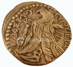Old gold Roman coin Rome / Roman : More At FOSTERGINGER @ Pinterest ⚫️