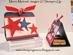 Two Tag Die 4th of July Treat Holders