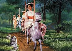 Ten Reasons Julie Andrews is Cooler Than We'll Ever Be | She makes carousel horses look classy and spectacular.