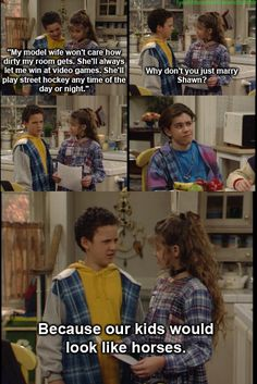 Aw I miss boy meets world