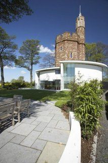 Lymm Water Tower by Ellis Williams Architects British studio Ellis Williams Architects transformed a derelict Grade II listed water tower into an amazing contemporary home. Located in Lymm, a large village in North West England Minimalist Architecture, Contemporary Architecture, Interior Architecture, Interior Design, Medieval Tower, Tower House, Concrete Patio, Patio Slabs, Concrete Wall