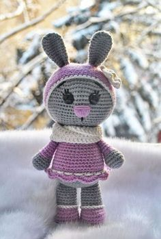 Pattern is very easy to understand and the final toy is adorable. #crochet #amigurumi