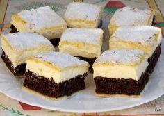 A világ legfinomabb túrós sütije, mire megiszod a kávéd, meg is sül! Hungarian Desserts, Hungarian Recipes, Sweet Desserts, Healthy Desserts, Cheesecake Pops, Cake Recipes, Dessert Recipes, Pan Integral, Sweet Pastries