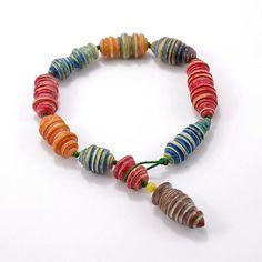 Necklace with wool & amber by Zeligowski design by KubaZeligowski