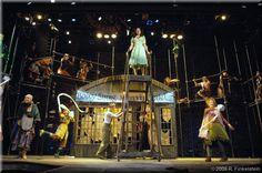 Set Design by Richard Finkelstein, Stage Designer
